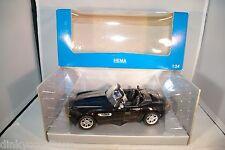 WELLY 1/24 BMW Z8 BLACK HEMA BOX MINT BOXED RARE SELTEN
