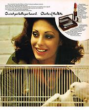 PUBLICITE  1976     CHARLES OF THE RITZ   cosmétiques   2