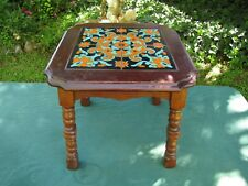 Vintage 1930s or 40s Tile Table