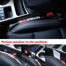 2X GTI Golf Polo Caddy Kohlefaser Lückenfüller Autositz Lücke Pad Passend für