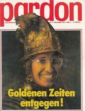 Pardon 1979 Nr. 11 mit Nina Hagen  Interview und Fotos