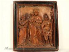 Bas-Relief, Vierge à l'enfant et Saints, XVIIIe