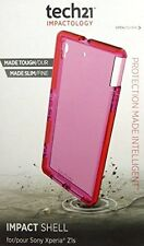Tech21 Impact Shell for Sony Xperia Z1S Pink Case Protection D30 Cover NEW!