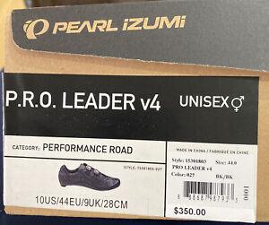 Pearl Izumi Pro Leader V4 Carbon Road Bike Shoes. Size   EU 44 / US 10