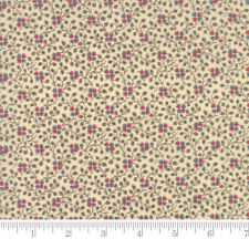 Moda Fabric Rachel Remembered Climbing Rose Sweet Cream - Per 1/4 Metre