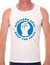 Northern Soul 60's Music Retro Mens Vest Sleeveless Tee Size S-XXL