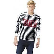 Franklin and Marshall Striped Sweatshirt 109ans Vintage Retro 3xl