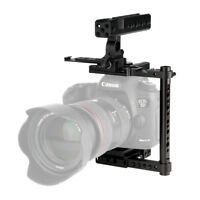NICEYRIG Camera Cage with Nato Handle Kit for Canon 5D3 5D4 6D 7D Nikon D800
