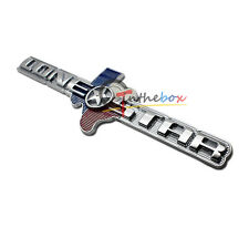 (1) 3D Metal Lone Star TEXAS Edition For Ram 1500 2500 3500 Emblem Badge Sticker