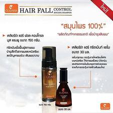 Cleara Serum Hair Loss 30 ml Serum Eyebrow + Shampoo Reduces Hair Fall 150 ml.