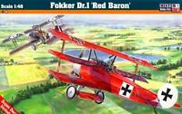 FOKKER Dr.I RED BARON (LUFTAFFE & FRENCH ARMEE DE L'AIR MKGS) 1/48 MISTERCRAFT