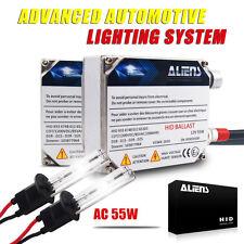 Aliens High Power 55W H1 HID Headlight Replacement Bulb Ballasts Xenon Kit 6000k