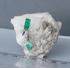 Smaragd- Mineral-Èmeraude-Calcit- Esmeralda - Emerald- Grün- Smeraldo- Kolumbien
