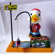 "AUTOMATE MECANIQUE - "" NO FISHING DUCK ""- YONE -FONCTIONNE- VIDEO -MADE IN JAPAN"