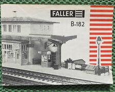 Faller Ams Original Booklet For Kit 182 (MA143)