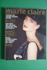 MARIE CLAIRE DICEMBRE 1991 LUDMILA ISSAEVA WALT DISNEY 90 YEAR DOMINIQUE SANDA