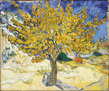 Art Oil painting Vincent Van Gogh - The Mulberry Tree in landscape hand painted
