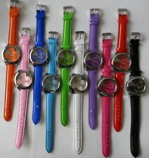 Ladies Girls's Unisex Mickey Mouse Quartz Watch Wristwatch-Leather Band Watches