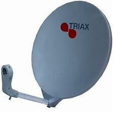 Circular Triax TV Satellite Dishes