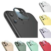 For iPhone 11/11 Pro Max Metal Tempered Glass Screen Rear Camera Lens Protector