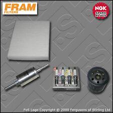 KIT Di Servizio Per FORD FIESTA mk6 st150 FRAM OLIO CARBURANTE CABIN FILTRO TAPPI 2004-2008