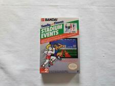 Stadium Events NES Entertainment System - Box Only - Top Quality - Repro
