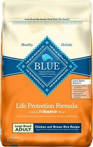 Blue Buffalo Life Protection Formula Large Breed Adult Chicken & Brown Rice 30lb