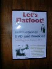 LET'S FLATFOOT! Instructional DVD with Lou Maiuri