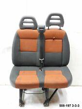 Sitz Sitzbank Beifahrersitz Doppelsitz Fiat Ducato 250 Bj. 2010 (508-197 3-3-3)