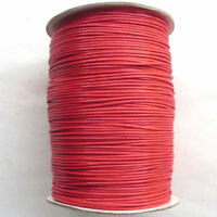 3 Color 10M 1.5MM Waxed Cotton Cord Various Colours Lengths Available DIY Rope #