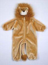 Lion Head Plush Halloween Costume Golden Brown Child Size Small S 2-4 Vintage