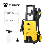 New DEKO QXJ1400 220v Cleaner Machine Car Electric Pressure Washer 1400W 1600PSI