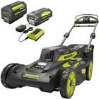Self-Propelled Walk Behind Mower 20 in. 40-V Brushless Battery Charger Cordless