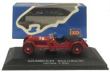 IXO Lm1931 ALFA ROMEO 8c #16 Winner Le Mans 1931 1 43 Scale
