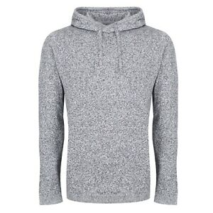 NEXT™ Mens Hooded Top New Knitted Cotton Long Sleeve Drawstring Hoodie Jumper