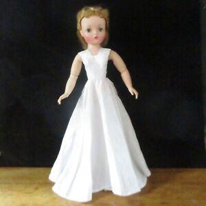 Cissy, Miss Revlon White Taffeta Dress