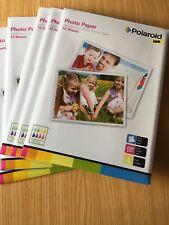 Polaroid Gloss Photo paper A4 size 12 sheets.
