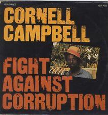 Cornell Campbell Fight Against Corruption ORIGINAL UK 1983 VINYL LP ROOTS VISTA