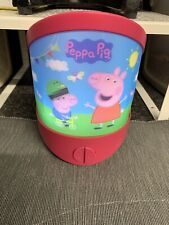 Multi Function Peppa Pig Night Light Lenticular With 20 Minutes Sleep Timer