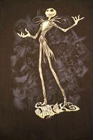 Disney T-Shirt M Studio Collection Nightmare Before Christmas Jack Skellington