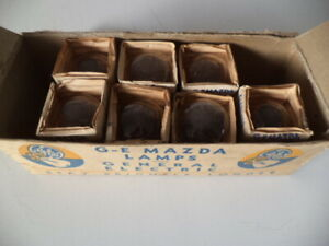 GE MAZDA 2331 HEADLAMP BULBS 6 VOLTS,32/32CP P15d-30 1930-1940 CAR,TRACTOR,TRUCK