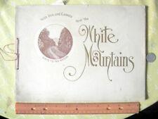 THRO  THE WHITE MOUNTAINS;WITH PEN & CAMERA,1904,Holman D. Waldron,Illust