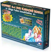"Coffret 6 DVD +1 Karaoké Mania ""Mega Tubes Inoubliables"" + Élastiques"