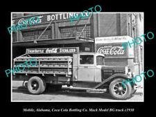 Coke Model EHU Bottlers Rack Truck Photo #55641 1940 Mack Coca Cola Picture
