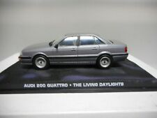 AUDI 200 C3 QUATTRO THE LIVING DAYLIGHTS JAMES BOND 007 IXO 1:43
