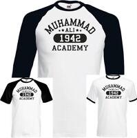 Muhammad Ali Academy Mens Boxing T-Shirt Training Top MMA Martial Arts Gym Boxer