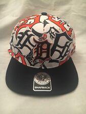 Detroit Tigers NEW Bravado Captain Snapback Hat . MLB Baseball Cap NWT OSFM Fan