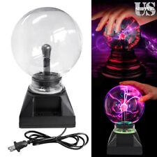 Plasma Ball USB Magic Crystal Globe Desktop Light Lightning Lamp Nebula Sphere