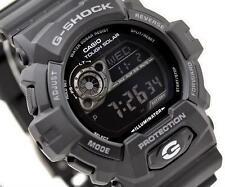 CASIO G-SHOCK, GR8900A-1 GR-8900A-1, TOUGH SOLAR, ALL BLACK, NEGATIVE DISPLAY