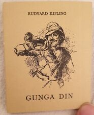 RUDYARD KIPLING GUNGA DIN 1962 ILLUSTRAZIONE LETTERATURA POESIA POEMA POEM